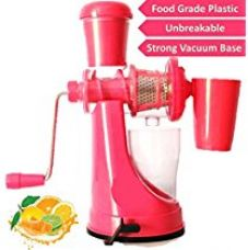 WebelKart Madhur Fruit And Vegetable Juicer With Steel Handle And Waste Collector (Multicolor) for Rs. 449