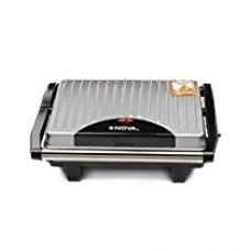 Buy Nova NGS 2449 1000-Watt 2-Slice Sandwich Maker (Black/Grey) from Amazon