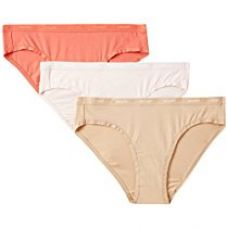 Buy Amante Women's Cotton Bikini Panty (Pack of 3) from Amazon