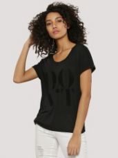 J.D.Y Front Print T-Shirt for Rs. 694