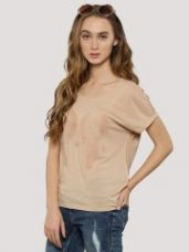 Buy J.D.Y Front Print T-Shirt for Rs. 694