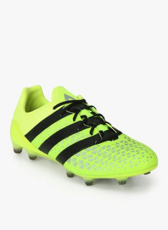 on sale on feet shots of new high quality Flat 45% off on Adidas Ace 16.1 Fg Green Football Shoes ...