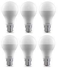 Buy Wipro 15W  (Pack of 6) LED Bulb- Cool Day Light from SnapDeal