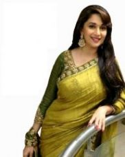 Flat 88% off on Kia Fashions Madhuri Bhagalpuri Green Color Saree