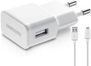 Samsung Eta-u90iweginu 10 W USB Travel Adapter Battery Charger (white) for Rs. 200