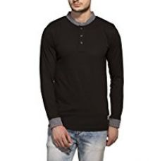 Buy Alan Jones Solid Men's Henley from Amazon