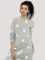 Buy INFLUENCE Star Print Sweatshirt for Rs. 700