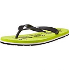 Buy ID Men's Lime Flip-Flops and House Slippers - 8 UK/India (42 EU) from Amazon