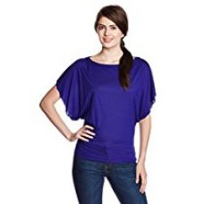 Buy Rattrap Women's Batwing Sleeve T-Shirt from Amazon