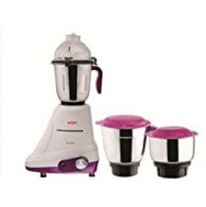 Buy Soyer MG750 750-Watt Perfect Series Mixer Grinder (White/Purple) from Amazon