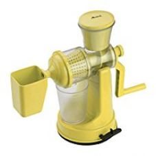 Amiraj Plastic Manual Juicer Set, 2-Pieces, Yellow for Rs. 402