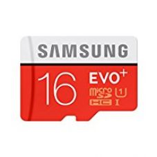 Buy Samsung Evo+ MB-MC16DA/EU 16GB SDHC Memory Card (Red/White) with Adapter from Amazon