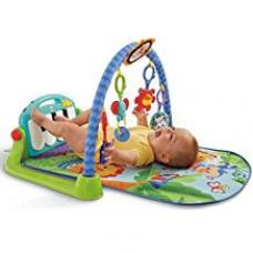 Buy Fisher Price Kick and Play Piano Gym, Multi Color from Amazon