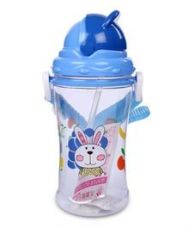 Flat 29% off on Sipper Water Bottle Rabbit Design 400 ml - Blue