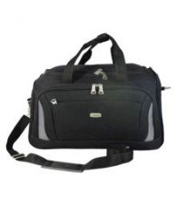Get 36% off on Timus Black Solid Duffle Bag