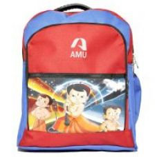 Flat 40% off on AMU Waterproof School Bag (Multi color, 14 inch)