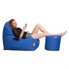 Buy Orka Set of 2, Triangle Bean Bag & Puffy Cover Only, cover only from Infibeam
