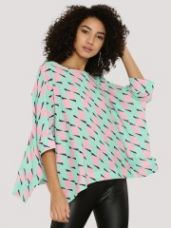 Buy KOOVS Oversize Boxy Top for Rs. 648