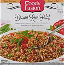 Buy Foody Fusion Brown Rice Pilaf, 225g from Amazon