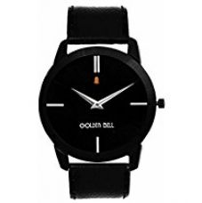 Buy Golden Bell Analogue Black Dial Mens Watches-Gb-753Blkd from Amazon