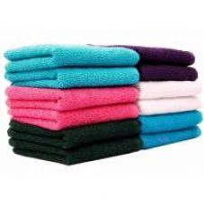 Bpitch Set of 10 (10x10inch) Face Towel MultiColor Cotton Terry for Rs. 129