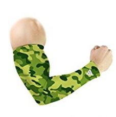 Buy Le Gear Camouflage Series Arm Sleeves (Green, Free Size) from Amazon