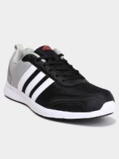 Adidas Men Grey & Black Running Shoes for Rs. 2,999