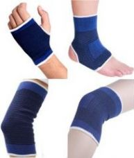 Palm, Elbow, Ankle, Knee Supports For Gym Exercise (4 Pairs) for Rs. 249