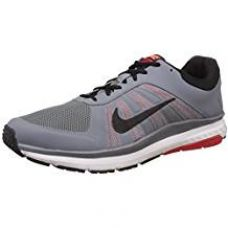Nike Men's Dart 12 Msl Cl Gry, Blk, Unvrsty Rd and Ttl Crms Running Shoes - 7 UK/India (41 EU)(8 US) for Rs. 4,305