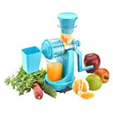 Amiraj Plastic Manual Juicer Set, 2-Pieces, Blue for Rs. 319