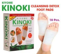 Buy Kiyome Kinoki Cleansing Detox Foot Patches 10 Adhesive Pads Kit from Rediff