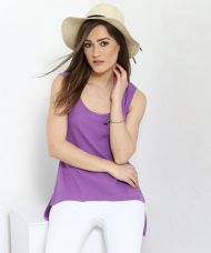 Yepme Mindy Tank Top - Lavender for Rs. 599