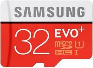 Samsung 32 GB EVO PLUS MicroSD SDHC Class 10 for Rs. 765