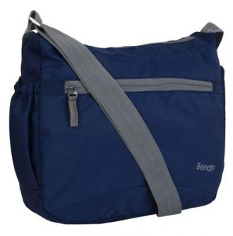 Buy Bendly Unisex Navy College Sling Bag from Paytm