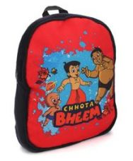 Get 10% off on Chhota Bheem School Bag Red Black - 14 Inches