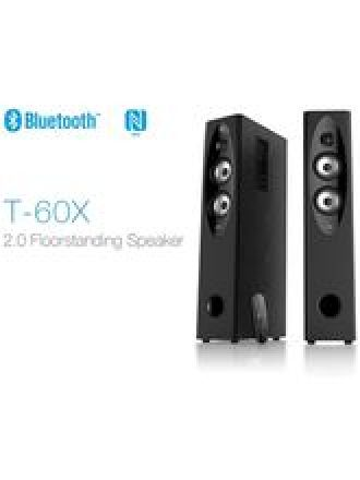 Get 16% off on F&D T-60X 2.0 Floorstanding Speaker (Bluetooth & NFC) - Black