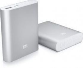 Get 55% off on Mi 10400mah Silver Power Bank