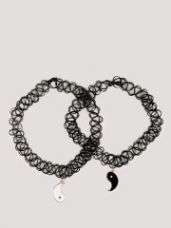 Get 60% off on KOOVS Choker Ying Yang Necklace