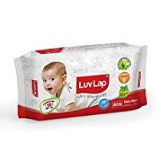 Buy Luvlap Paraben Free Baby Wet Wipes with Aloe Vera (80 Wipes) from Amazon