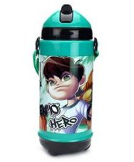 Buy Ben 10 Sipper Bottle Green And Black - 420 ml from FirstCry
