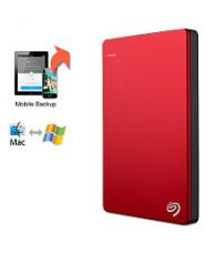 Seagate Backup Plus Slim 2TB Portable External Hard Drive & Mobile Device Backup (Red) for Rs. 7056