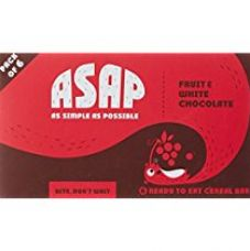 ASAP Fruit & White Chocolate Granola Bars, 40g Each (Box of 6) for Rs. 180