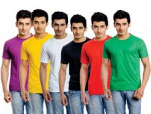 Get 40% off on Korel Pack Of 6 Solid Color Tshirt For Men