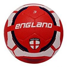 Buy Vector X England Rubber Moulded Football, (White/Maroon) from Amazon