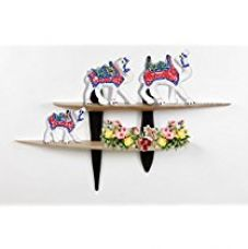 Jaipuri Haat Handicrafted set of 3 showpiece Camel for decoration and Gift purpose (10X10Cm ,9X 9Cm ,8X8 Cm) for Rs. 219