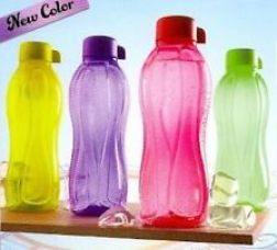 Tupperware Aquasafe Waterbottles 1 Ltr 4 Pcs for Rs. 685