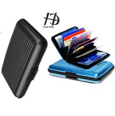 Buy Aluma Card Holder in Assorted Color with 6 Flaps-(Set Of 2) from Paytm