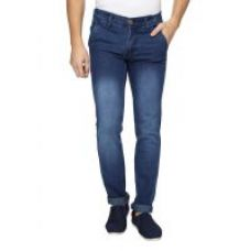 Buy Wajbee Blue Slim Fit Mid Rise Mens Jeans from ShopClues
