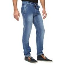Wajbee Mens Stretchable Slim Fit Faded Jeans for Rs. 399