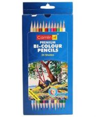 Buy Camel Premium Bi-Colour Pencil - 24 Shades for Rs. 120